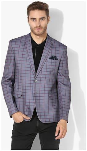 hangup checkered blazer for daily use