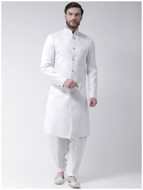 Men Solid Regular Fit Sherwani ,Pack Of 1