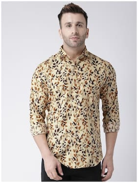 Men Regular Fit Floral Casual Shirt