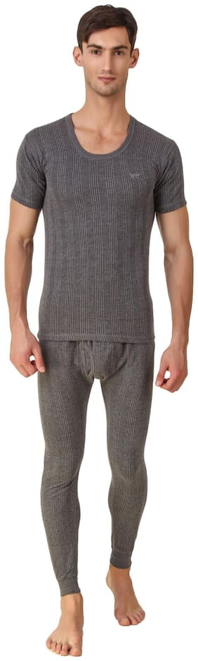 Hap Men Cotton Thermal Set - Grey