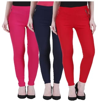 Lycra Cotton women for Collection Hardy's Newfashion Jagging nqUt8wE4Rx