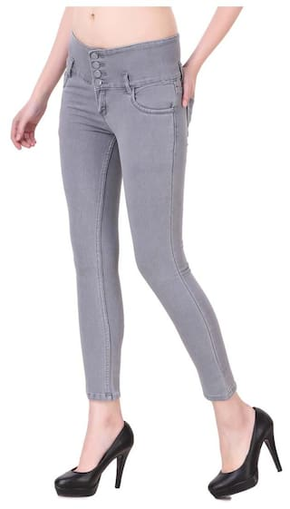 Lycra Jeans Denim Hardy's Women For 0ZxUZwq
