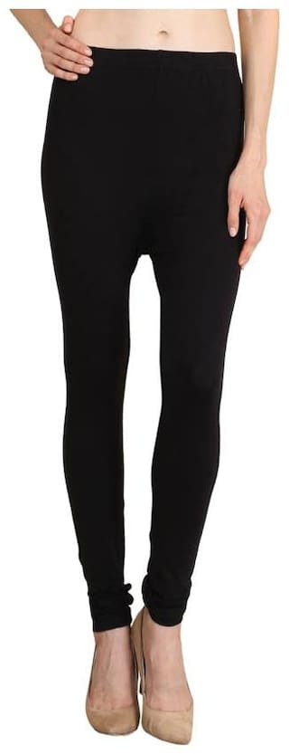 HEXA Blended Leggings Black