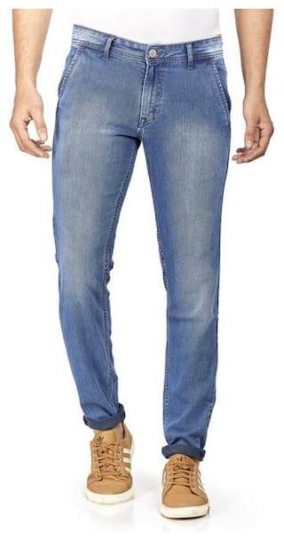 HJ HASASI Men Blue Regular Fit Jeans