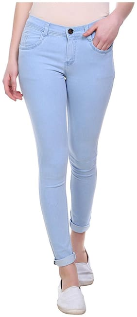 Women Slim Fit Jeans Pack Of 1