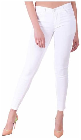 Women Slim Fit Jeans ,Pack Of Pack Of 1