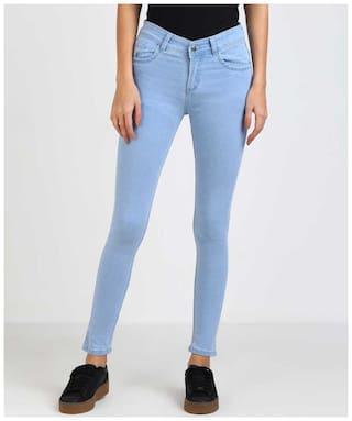 HMFURRYS FINEST Women Blue Slim fit Jeans