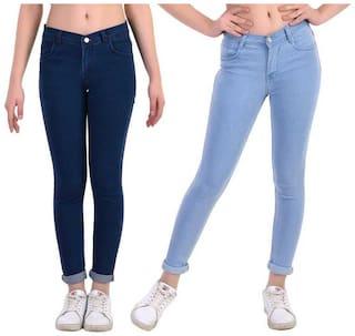 HMFURRYS FINEST Women Blue Straight fit Jeans