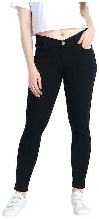HMFURRYS FINEST Women Black Slim fit Jeans