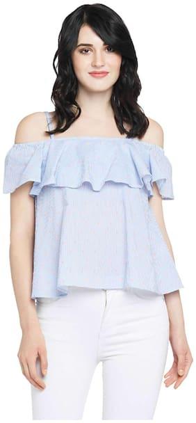 Women Embroidered Off-Shoulder Top