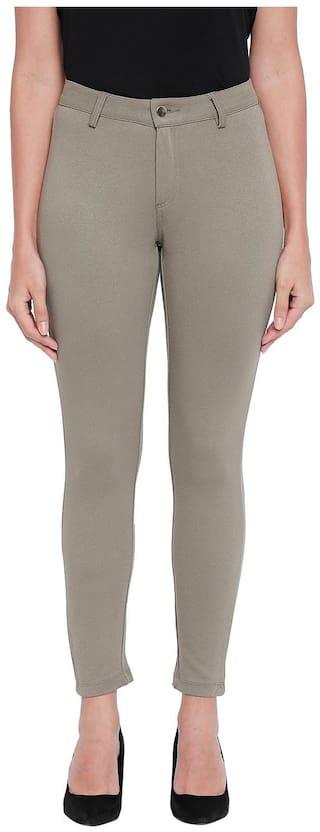 Honey By Pantaloons Women Green Regular fit Regular trousers