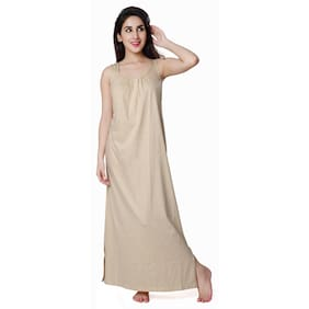 Honey Dew Beige Night Gown