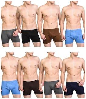 Men Cotton Solid Underwear ,Pack Of 9