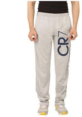 Hotfits Graphic Print Men's Grey Track Pants