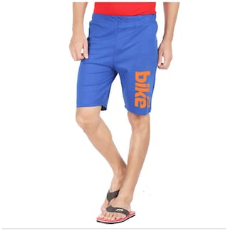 HOTFITS Men Blue Regular Fit Regular Shorts