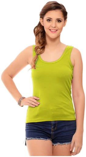 Hothy Parrot Green Camisole & Tank top