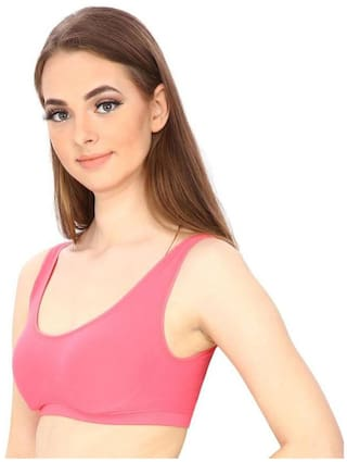2c9ee7552bd4f Buy Hothy Women s Pink Air Bra Online at Low Prices in India ...