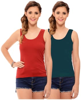 Hothy Womens's Multi Color Camisole (Pack of 2)