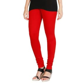 Hrinkar Cotton Leggings - Red