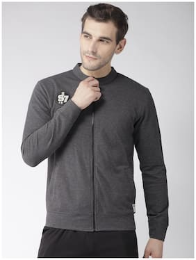 Hubberholme Men Polyester Sweatshirt - Grey