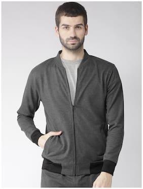 Men Solid Sweatshirt