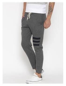 Hubberholme Men Cotton Track Pants - Grey