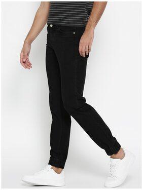 Hubberholme Men's Mid Rise Slim Fit Jeans - Black