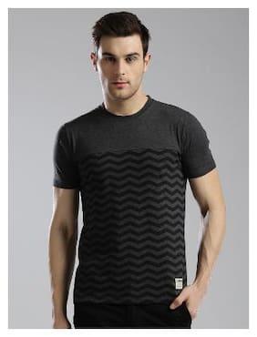 Men Crew Neck Solid T-Shirt