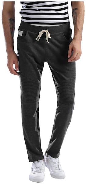 Regular Fit Cotton Blend Track Pants