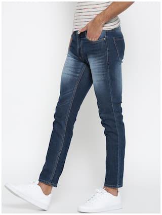 Hubberholme Men Blue Regular Fit Jeans