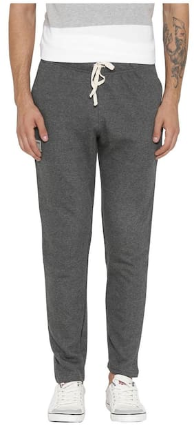 867f4461639 Hubberholme Men Cotton Blend Track Pants - Grey