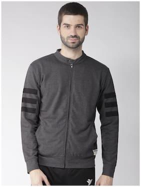 Hubberholme Men Polyester Sweatshirt - Grey