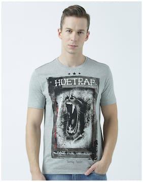 Men Scoop Neck Printed T-Shirt Pack Of 1