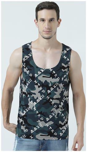 Men Scoop Neck Camouflage T-Shirt Pack Of 1