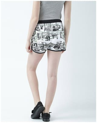 Knit Shorts in Day by Womens Huetrap Black the Easy YpggXB