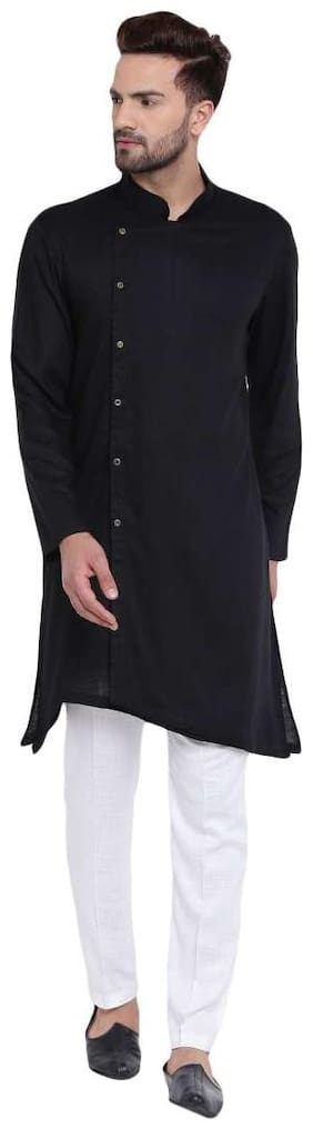 I Know Men Pink Regular Fit Kurta