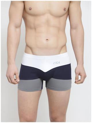 IC4 Men Cotton Mid Rise Trunks (Multi)