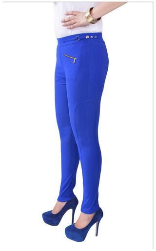 Skinny iHeart Jegging Fit Lycra Blue x8r8p