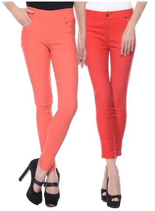 Of Color Cotton 2 Jeggings Pack iHeart Multi 8I5q00