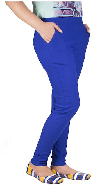 Blue 2 Jeggings Iheart Skinny And Cotton Pack Of Pink PqWxwSBXZ
