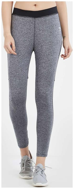Imagica Polyester Leggings - Grey