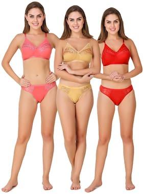 In Beauty Solid Bikini brief - 3 Lingerie Set