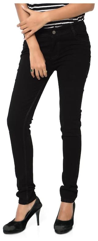Velvet Inddus Slim Stretchable Jeans Black Fit Dobby Denim wxqPOTg8