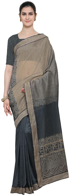 Blended Chanderi Saree