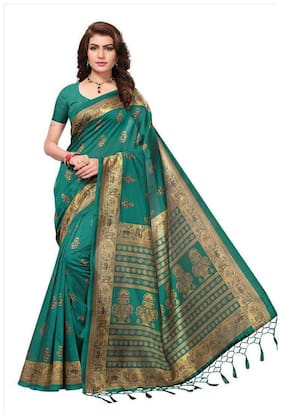 Blended Mysore Saree ,Pack Of 1