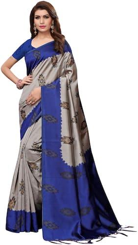 Blended Kalamkari Saree