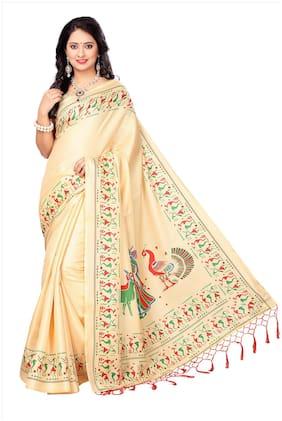 Blended Khadi Saree