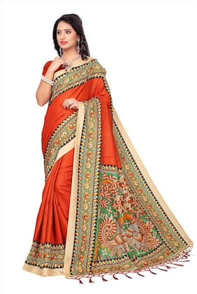 Blended Khadi Saree