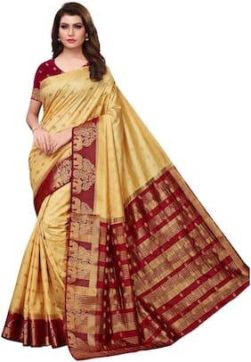 Blended Banarasi Saree