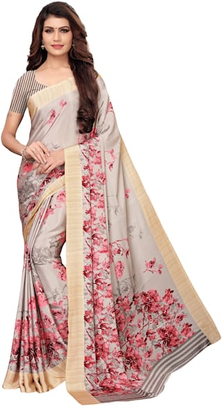 Indian Beauty Blended Universal Work Saree Multi